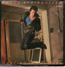 "BRUCE SPRINGSTEEN - Dancing In The Dark - 7"" Vinyl Single *P/S* *Vinyl=VG*"