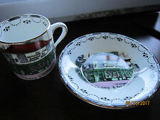 Rosina London DIckens Old Curiosity Shop Cup & Saucer set Bone China Antique