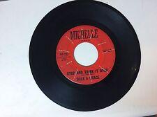 ROCK 45 RPM RECORD - DALE & GRACE - MICHELLE MX-923
