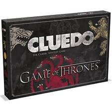 Cluedo Game Of Thrones Hit TV Show Mystery Board Game Edition By Winning Moves