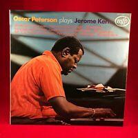 Oscar Peterson Plays Jerome Kern  UK Vinyl LP EXCELLENT CONDITION MFP 5212