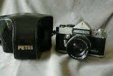 Petri Flex V. 35mm SLR in superb condition with ERC.