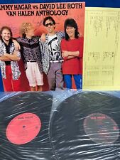 Van Halen Anthology Sammy Hagar vs David Lee Roth Japan Promo LP Record PS-290-1