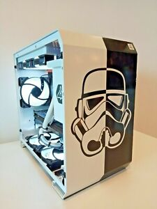 Custom STORMTROOPER STAR WARS Gaming PC - i5 10400(6 core),GTX1660 6gb,16gb RAM