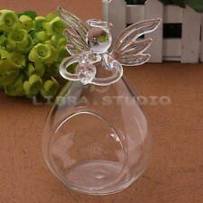 Angel Candlestick Glass Hanging Candle Tea Light Holder Party Wedding Home Decor