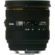 Sigma 24-70mm F2.8 EX DG Macro Lens Nikon Brand New With Shop Agsbeagle