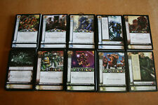 Warhammer 40k Horus Heresy CCG Daemons Fire Common cards - 10 cards per lot