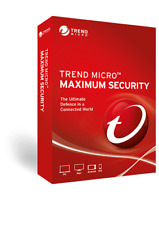 Trend Micro Maximum Security 16 2020 1 Year 3 Devices Email Delivery !