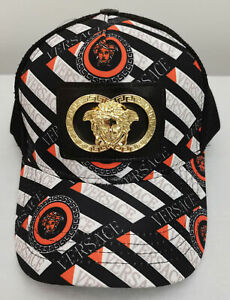 Men Women Versace Baseball Golf Hat Adjustable Cap NWT