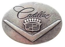 Norman K Modedesign Gürtelschnalle Cadillac, Silber
