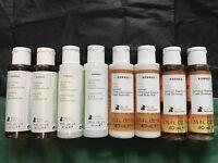 NEW Korres Travel Size Set 8x 40ml Shampoo Conditioner Shower Gel Body Milk