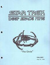 Star Trek Script - Deep Space Nine - The Circle