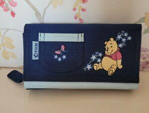 Winnie The Pooh Purse Navy Blue BNWT