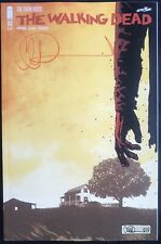 IMAGE COMICS THE WALKING DEAD #193 SIGNED BY CHARLIE ADLARD 1ST PRINT LAST ISSUE