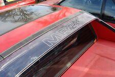TOYOTA MR2 MK1  ' M R 2 '  rear clear aerofoil decal, sticker, Looks superb AW11
