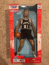 "Starting Lineup Figure 12"" 1998 NBA San Antonio Spurs Tim Duncan HOF"