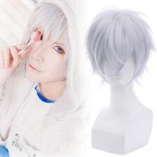 Hatsukoi Monster Takahashi Kanade Gray White Cosplay Wig Short Straight Wigs