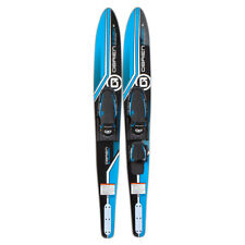 O'Brien Watersports Adult 58 inches Celebrity Jr. Water Skis, Blue and Black
