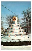 1969 300th Anniversary Birthday Cake, Westfield, MA Postcard
