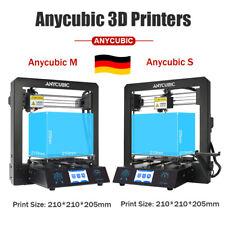 EU Ship Anycubic i3 Mega-S Imprimante 3D Tout métal Ultrabase Hotbed PLA TPU ABS