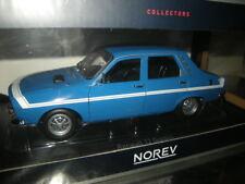 1:18 Norev Renault 12 Gordini 1971 Bleu de France Nr. 185210 OVP