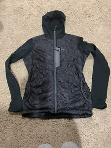 Outdoor research Women's S Small lightweight fitted jacket black hooded black