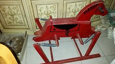 "Vintage ""The Wonder Horse"" Rocking Wooden Red Riding Toy"