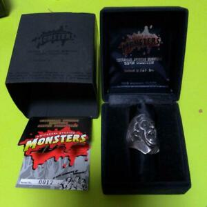The DRACULA Universal Studios Monsters Silver 925 Ring