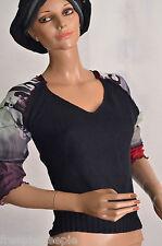 Gilet tee shirt noir COP COPINE  taille 36/38  ref  0916238