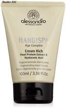 Alessandro Age Complex Cream Rich  Handcreme Maniküre Hyaluronsäure 100ml