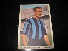 Figurina IL CALCIO ITALIANO TAVERMATIC 1962/63  COLOMBO  Atalanta  Taver matic