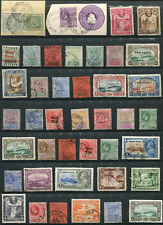 BRITISH GUIANA (22711): collection of old stamps