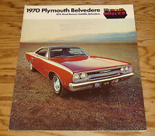 1970 Plymouth Belvedere Sales Brochure 70 GTX Road Runner Satellite Canadian