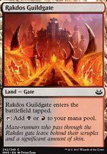 4x Cancello della Gilda Rakdos - Rakdos Guildgate MTG MAGIC MM3 English
