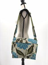 JuJuBe Diaper Bag Better Be Messenger Blue Floral Changing Pad Marvelous Mums