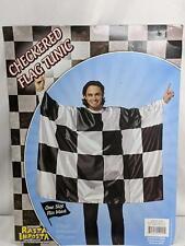 Rasta Imposta Checkered Flag NASCAR Tunic Adult Costume One Size Q