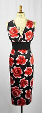 Cotton Wiggle, Pencil Floral Sleeveless Dresses for Women