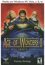 Age of Wonders II 2 The Wizards Throne PC Game
