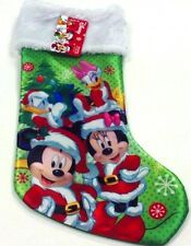 "Disney Mickey Mouse,Minnie Mouse,Donald Duck,and Daisy Duck 18"" Stockings-New!"