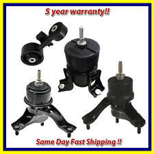 2007-2009 Toyota Camry 2.4L Engine Motor & Trans. Mount Set 4PCS for Automatic