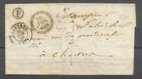 1848 Lettre Cursive 27/Bailleau-Le-Pin +Chartres t15 + F EURE-ET-LOIR (27) X2665