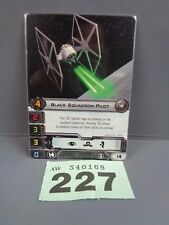 Wargaming X Wing Alt Art Promo 2013 Black Squadron Pilot Card 227