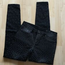 Blank NYC Spray On Instaglam Studded Black Skinny Jeans size 28 BNWT RRP $108