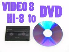MP-120 VIDEO 8 8MM VIDEOTAPE HI-8 TO DVD TRANSFER SD Card Flash Drive (Option B)