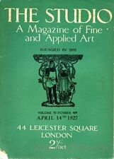 Magazine The Arts Antiquarian & Collectable Books