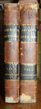 1841 Dictionary  of the  Spanish and English Languages 2 Vols Neuman Barretti