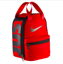 Nike Lunch Tote Bag New Insulated Fuel Pack Retention Thermal Chill One Size Red