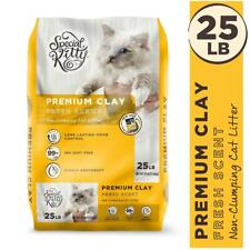 Clay Cat Litter 25 lb Premium Special Kitty Fresh Scent