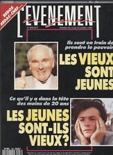 L'evenement Du Jeudi   N°258   12 au 18 octobre 1989 : Ce qu'il y a dans la tete
