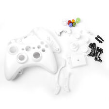 Full Housing Shell Case Kit Replacement Parts for Xbox 360 Controller White